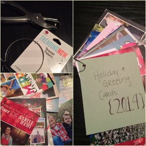 How to Organize your Holiday Greeting Cards